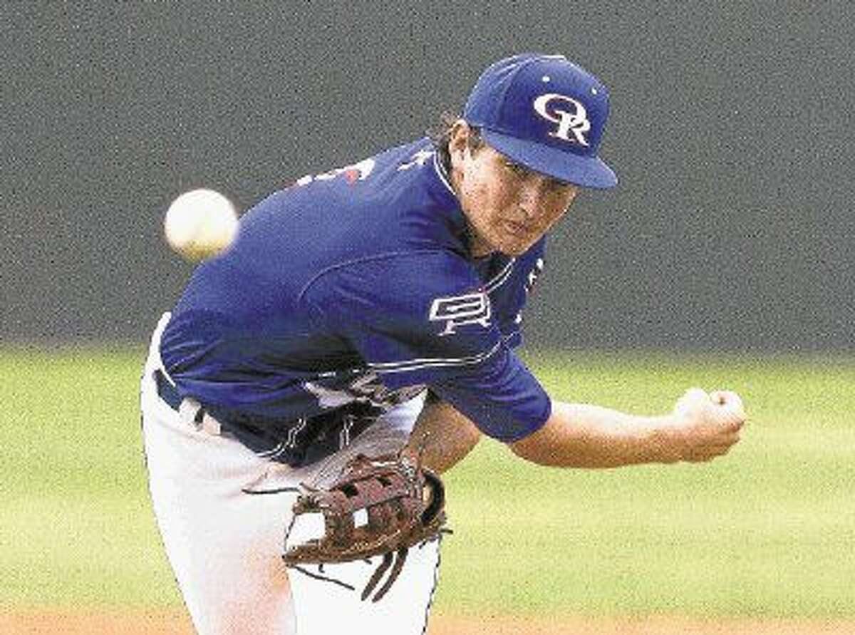 Oak Ridge junior pitcher Tyler Davis is The Courier's 2016 Montgomery County Player of the Year.