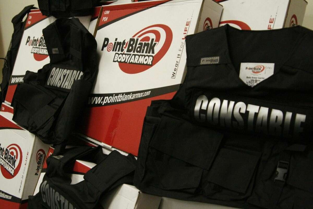 Montgomery County Precinct 4 Constable's Deputies will be safer when they are on patrol or responding to calls thanks to a grant from The 100 Club for new body armor.