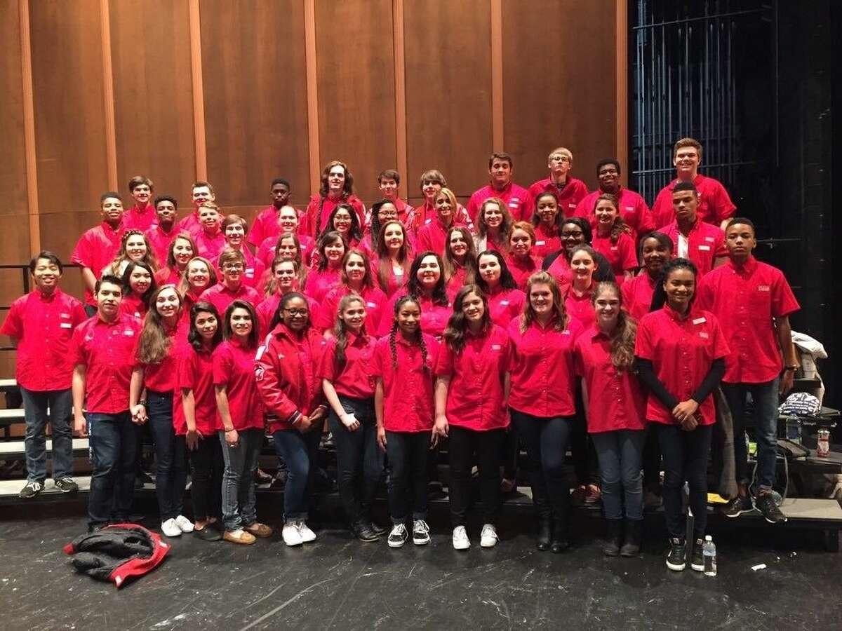 Atascocita High School choir members were recently selected to Region Choir.