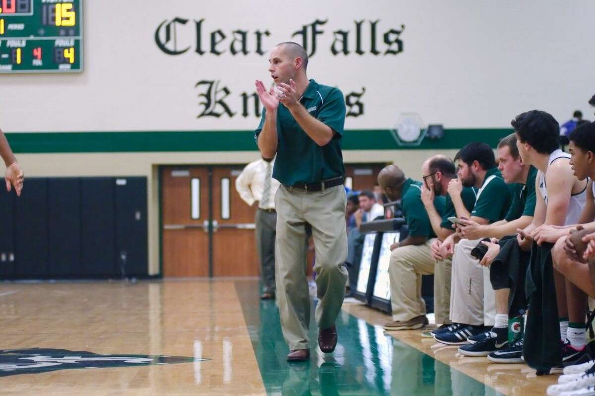 Clear Falls head coach Cliff Lyles has his Knights off to a fast start, but says his team needs to improve its rebounding.