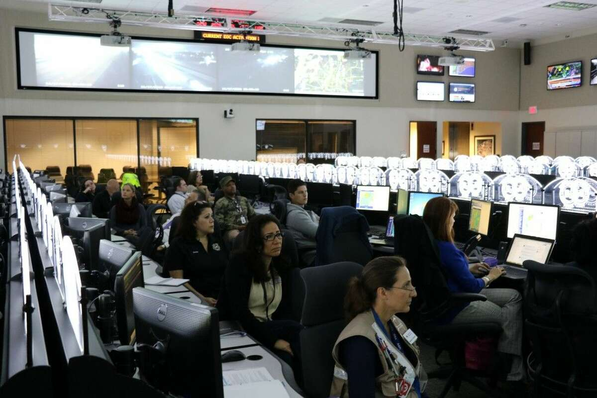 The Harris County Emergency Operations Center has activated six times this year for severe weather events.