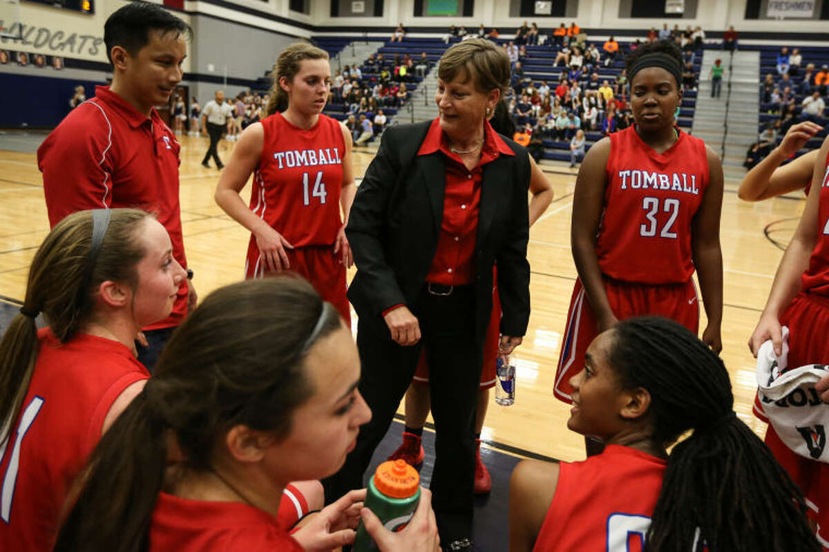 The Tomball Lady Cougars, led by head coach Karen Leaker