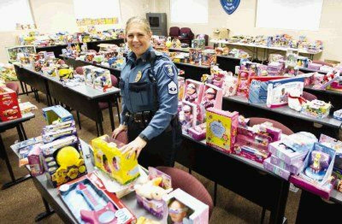 Students and families at 20 Conroe ISD schools are coming together to make sure other families have a merry Christmas by donating gifts for The Conroe ISD Police Department's annual event Children in Santa's Dreams.