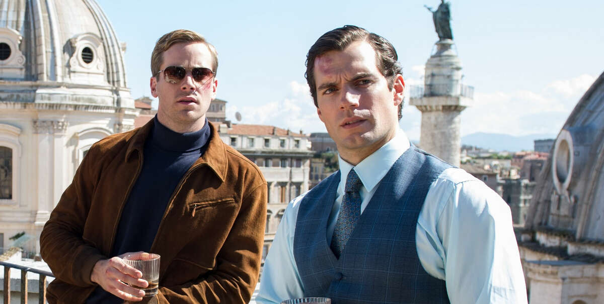 Henry Cavill and Armie Hammer star in The Man From U.N.C.L.E. out on DVD this week.