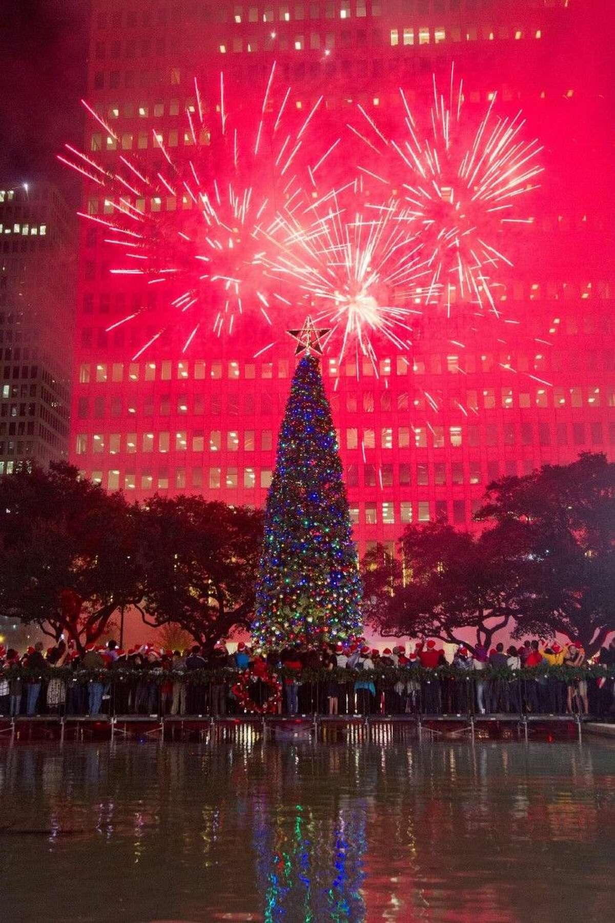 Ring in the season with the 96th Annual Mayor's Holiday Celebration and Tree Lighting Presented by Reliant, an NRG company, Friday, Dec. 4, at City Hall in Hermann Square from 6-8 p.m.