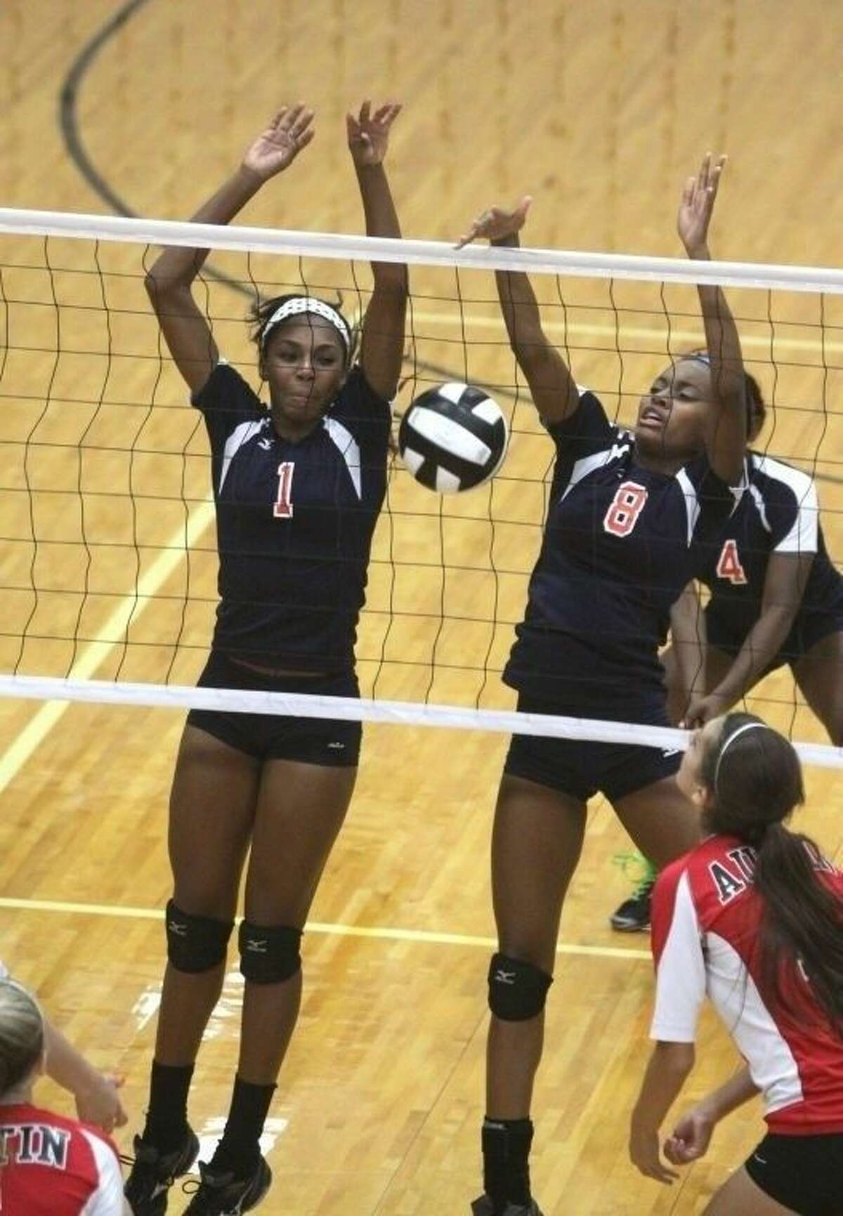 Jarra Owens and Shayla Eagleton were both voted to the District 23-5A first team after leading Bush to its first playoff appearance.