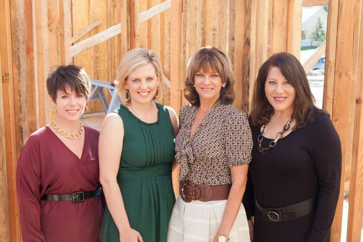 The co-chairs of Habitat for Humanity Montgomery County's 2015 Building Hope Gala are, from left, Susan Hayes, Jen Lowrance, Suzanne Pagel and Cindy Hageman.