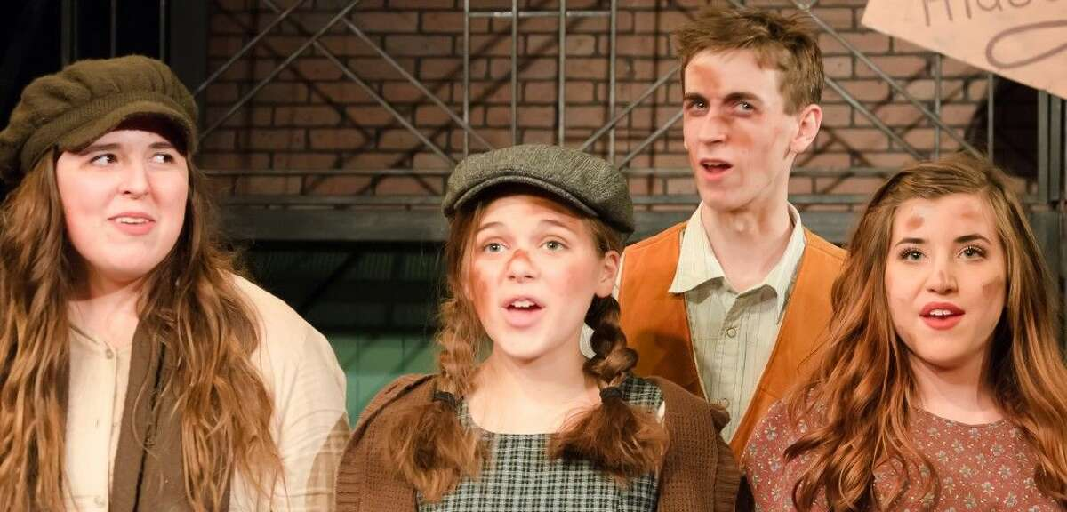 Performance Conservatory students in Urinetown.
