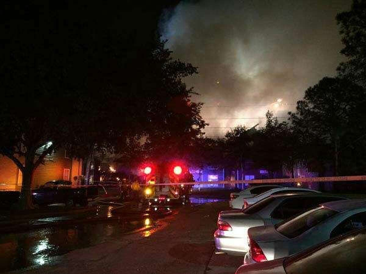 An intense two-alarm fire ripped through the Villages of Copperfield apartment complex in northwest Houston. Go to KTRK Channel 13 for more coverage.