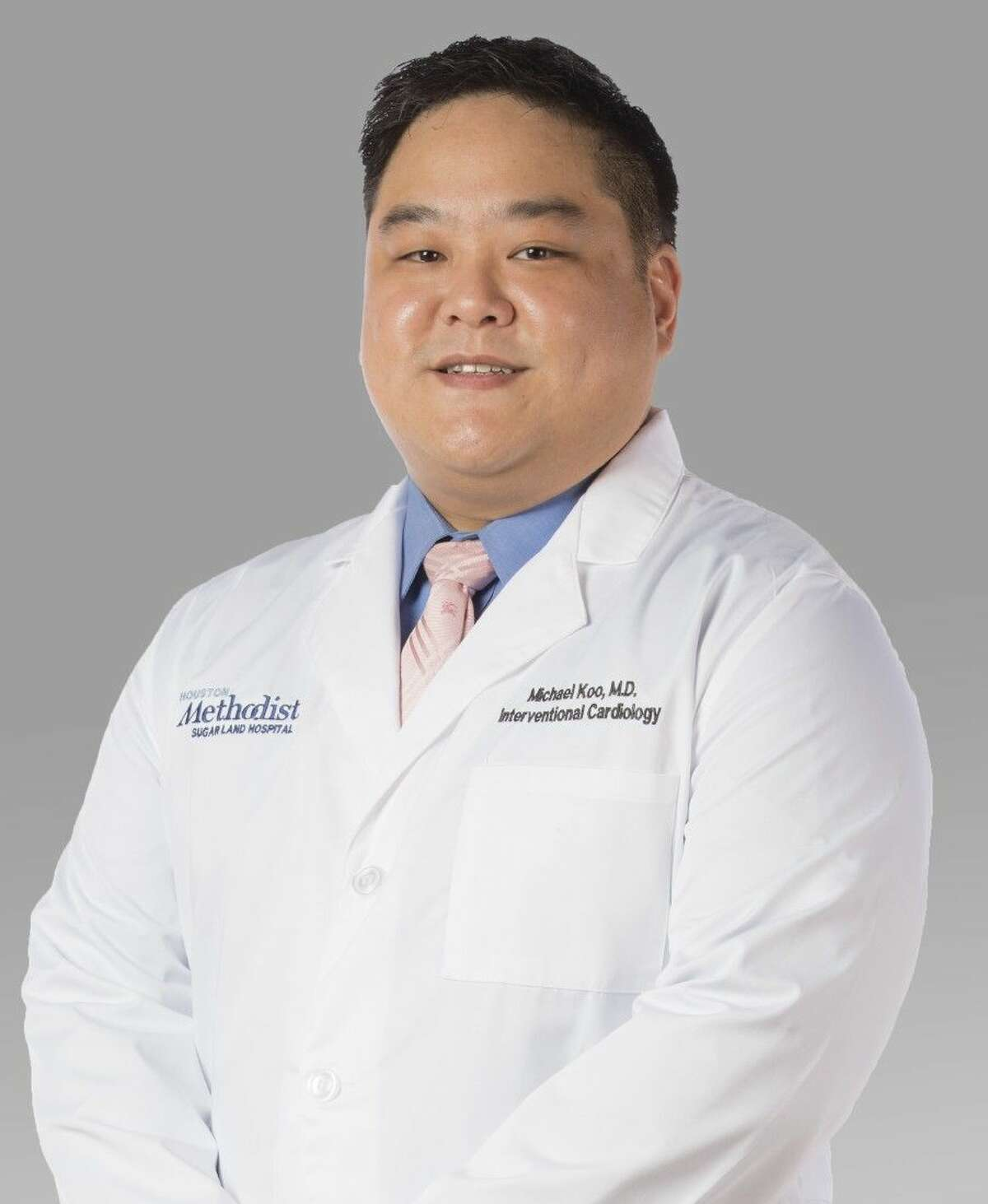 Pictured is board-certified cardiologist Michael H. Koo, M.D. He joins Houston Methodist Cardiology Associates.