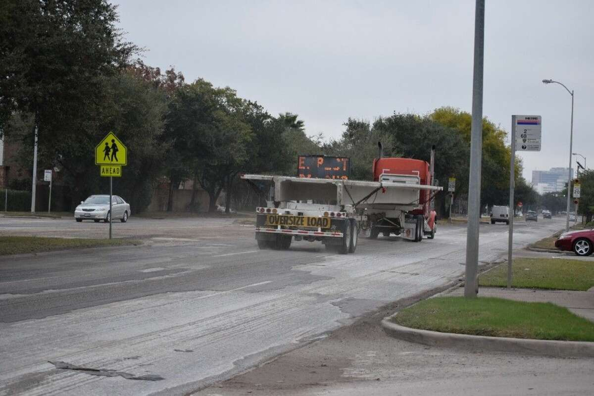 Resurfacing on Holcombe from approximately Main Street to Southside Place is scheduled to continue until March 2015. Residents have complained of dust kicked up during construction.