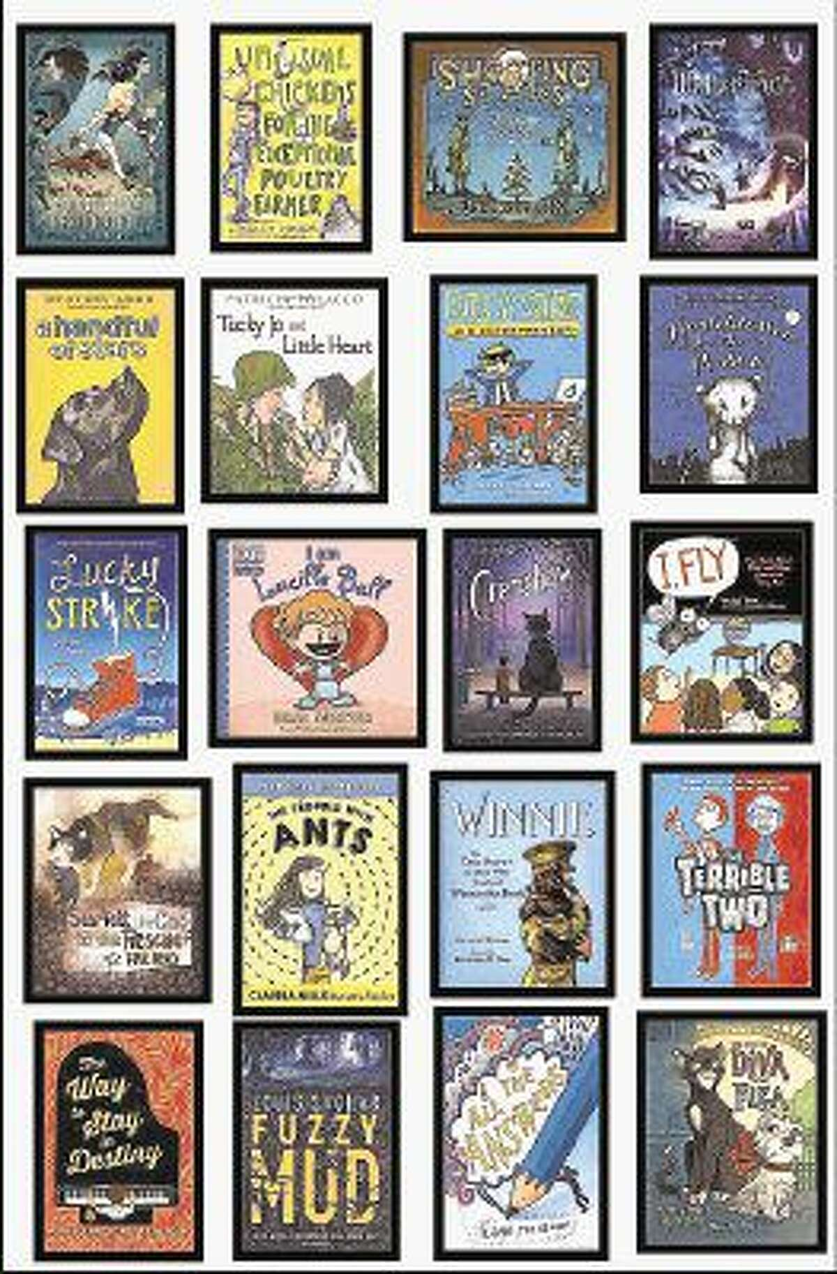 """The 20 books on the 2016-2017 Horned Toad Tales list are recommended for CFISD students in grades 3-5 and will be included on the """"Name That Book"""" list."""