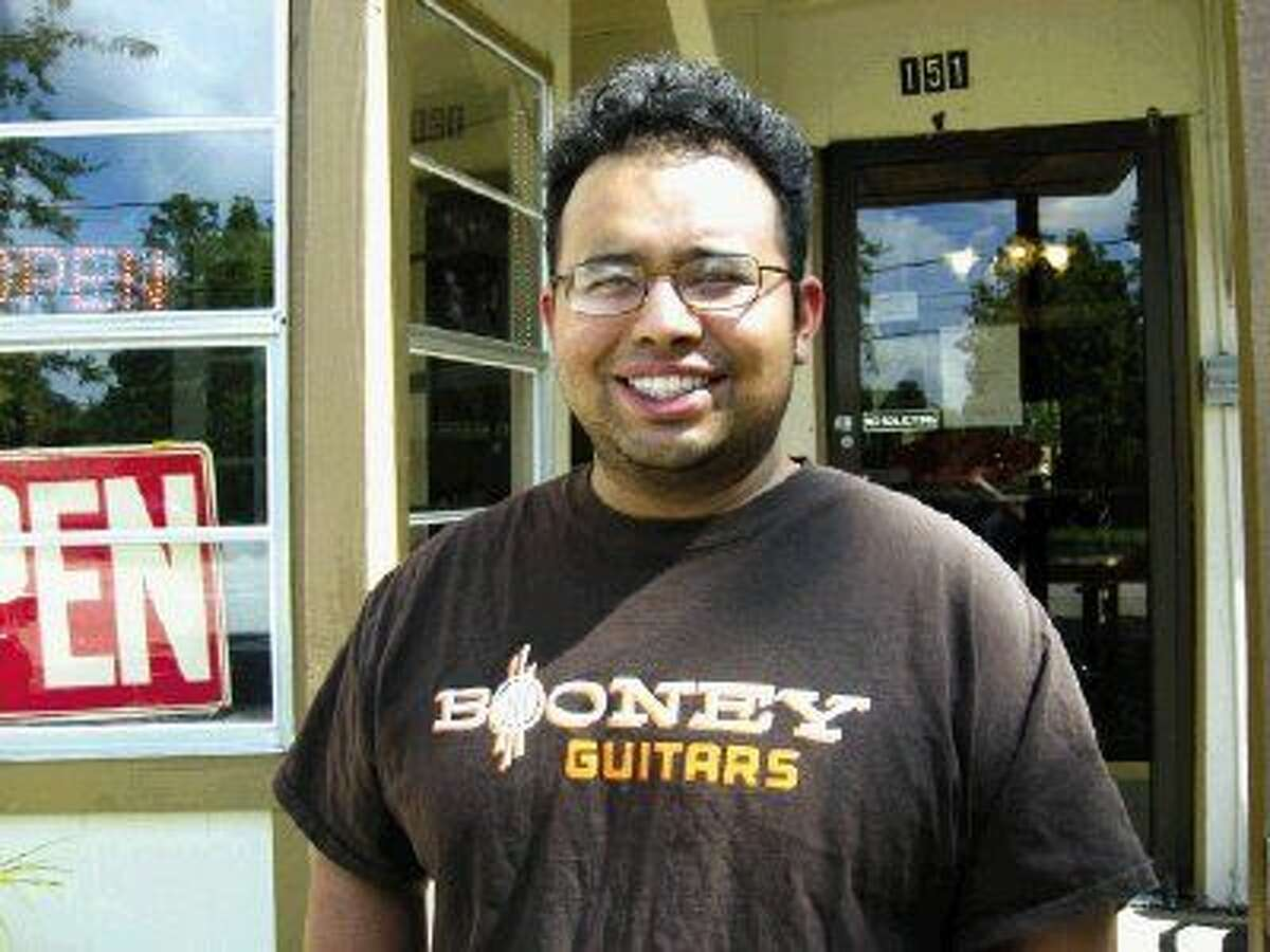 """Daniel """"Booney"""" Carranco opened Booney Guitars in December of 2012. Located at 151 Isaacks Rd. in the heart of Humble, Booney Guitars offers guitar builds, repairs and re-builds, custom wiring, custom pickup configurations, shielding, amp repairs,fret work, pedal board builds and even custom parts for that guitar player that knows what they want but the part is not available on the market yet."""