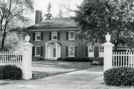 The Strosacker House, 907 W. Park. 1926-1950 period. October 1978