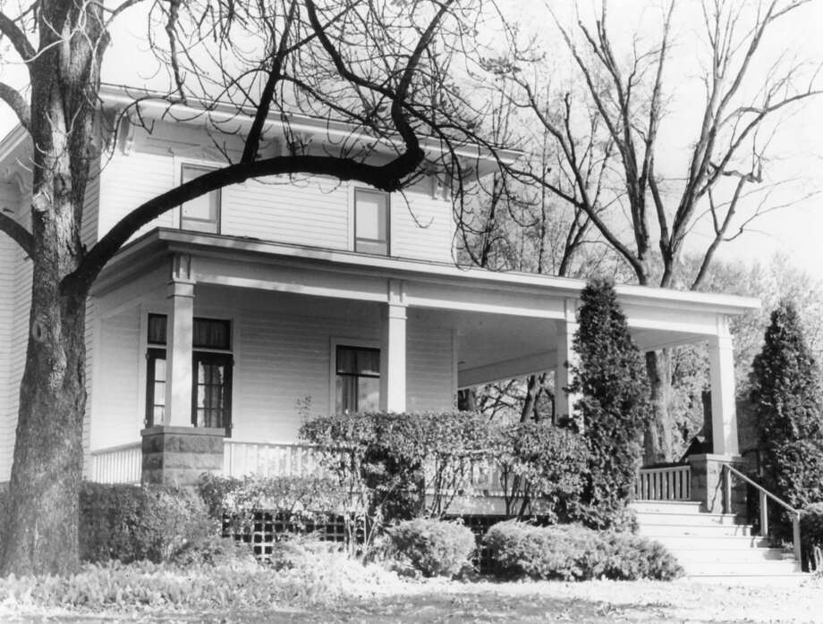 The Hart House, 702 W. Main St., is an example of a 19th century structure in the proposed Midland historical district. October 1978 Photo: Daily News File Photo