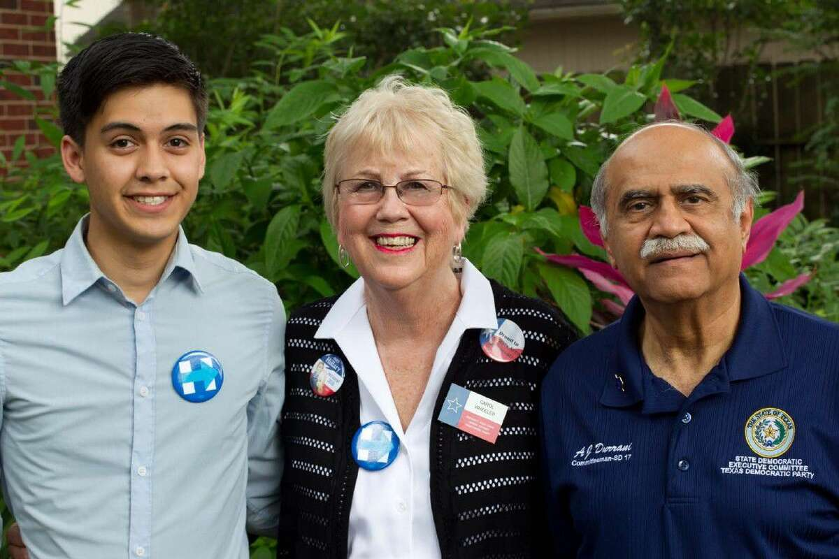 Davis Darusman, Carol Wheeler and AJ Durrani, have been elected as Texas delegates to the Democratic National Convention.