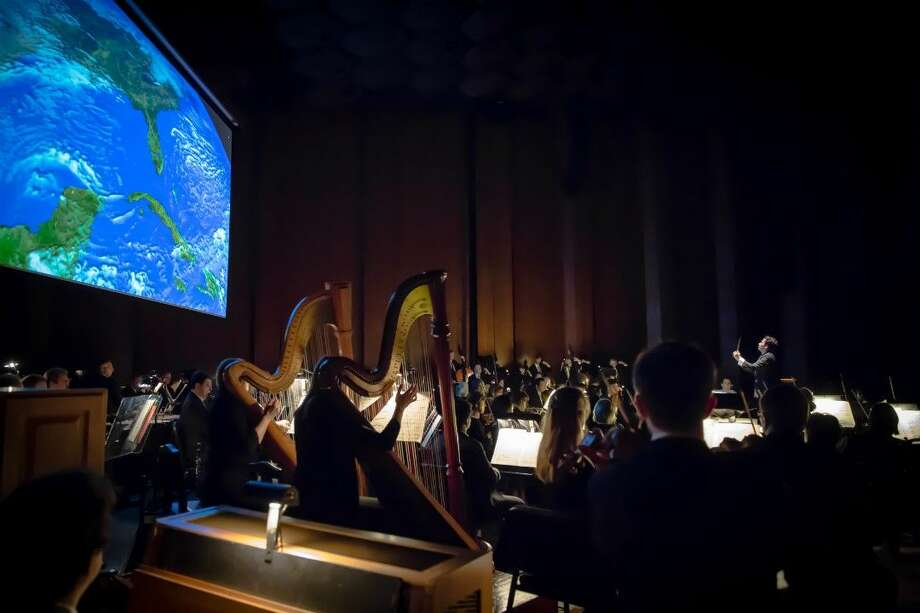 """From the home city of manned spaceflight, the Houston Symphony has released """"The Earth-An HD Odyssey"""" on DVD and Blu-ray. """"The Earth-An HD Odyssey"""" is the highly anticipated second installment of the Symphony's groundbreaking HD Odyssey film trilogy and Music Director Andrés Orozco-Estrada's first recording release with the Houston Symphony."""