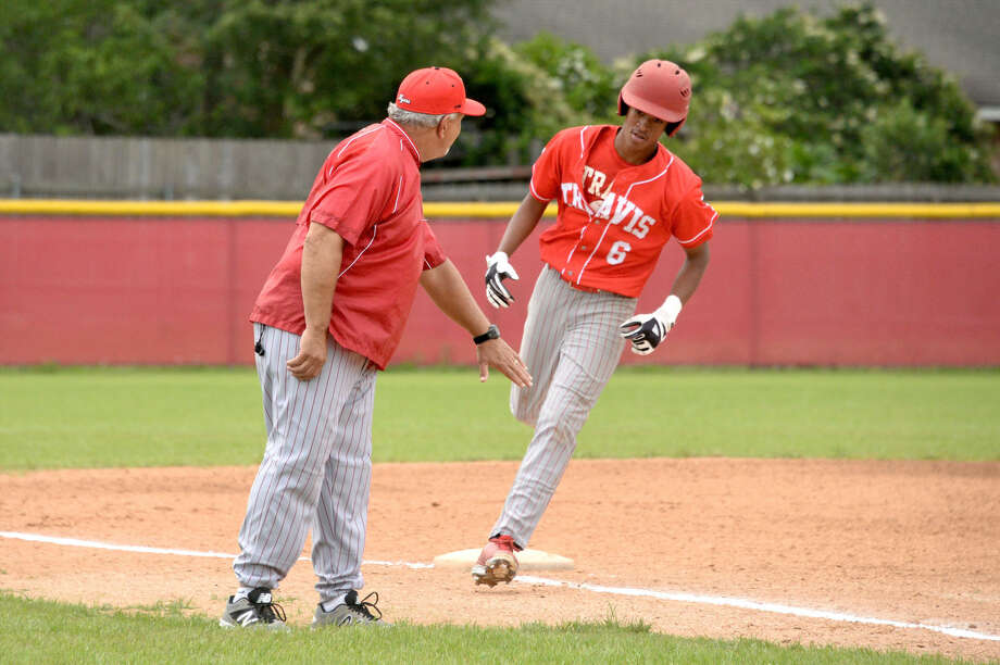 Travis incoming sophomore Sammy Faltine was one of 20 players selected for the USA Baseball 15U team to play at the World Baseball Softball Confederation U-15 World Cup in Japan. View this and additional photos on HCNPics.com. Photo: Craig Moseley