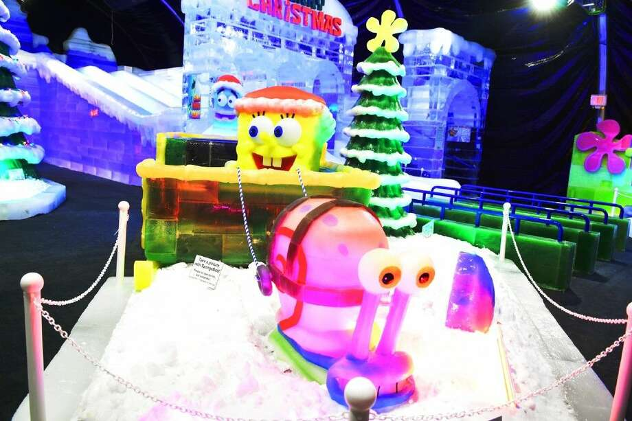 Moody gardens festival of lights and ice land sculptures - Moody gardens festival of lights 2016 ...