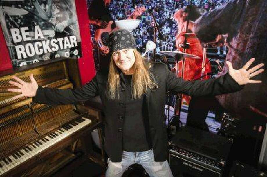 Musician Johnny Solinger, former frontman for band Skid Row, is now working with the School of Rock in The Woodlands. Photo: Michael Minasi