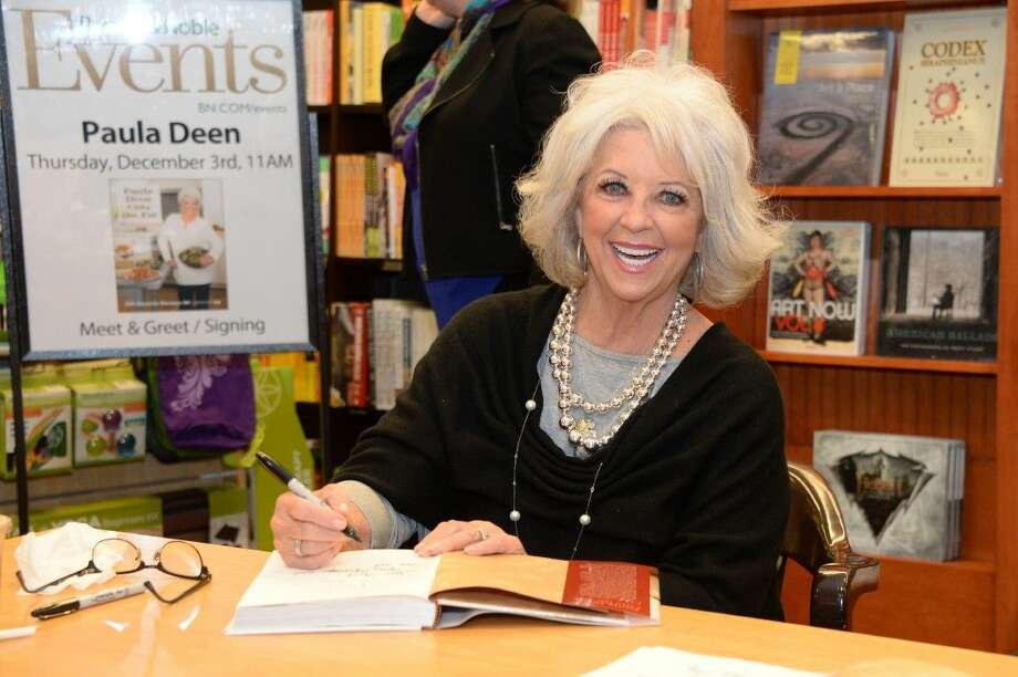 """Dubbed the 'Queen of Cuisine' by her fans, Paula Deen was in Houston signing autographs for her new book, """"Paula Deen--cutting the fat."""" The celebrity chef appeared at Barnes & Noble in River Oaks last Thursday with hundreds of loyal fans lining up to see her. Photo: Craig Moseley"""