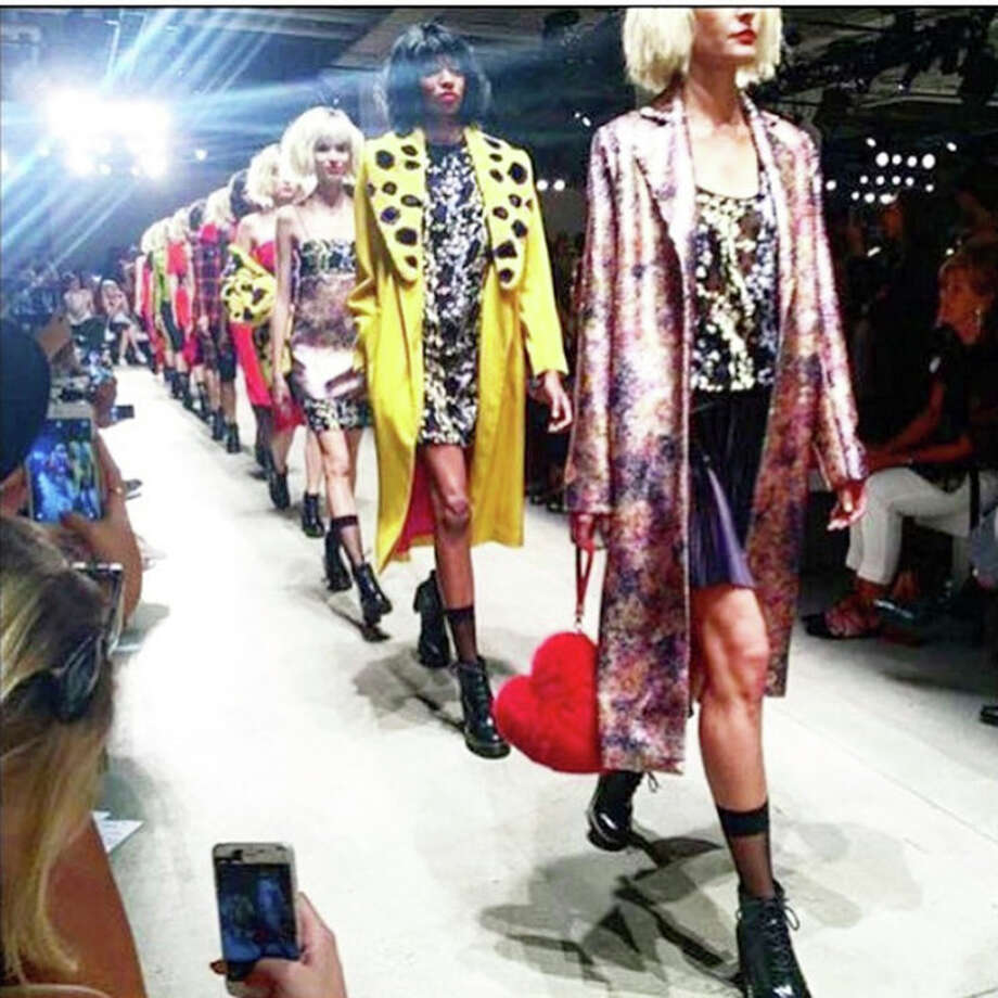 Photo provided Kelli Mason and the rest of  Charlie Price's 30-member team cut and styled 37 wigs for the Georgine Spring/summer 2017 show. Georgine's collection was on the 'designer to watch' list in the New York Post shortly after the runway show.