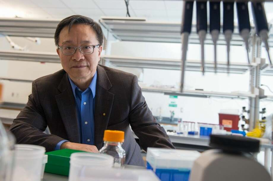 Gang Bao will bring his expertise in precision genome engineering, nanotechnology and molecular imaging to Rice's Department of Bioengineering through a grant from the Cancer Prevention and Research Institute of Texas. Photo: Jeff Fitlow