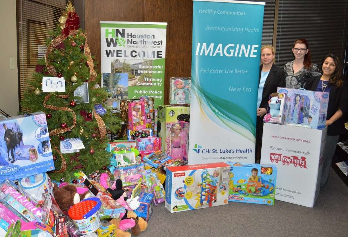 HYPE of Houston NW Chamber of Commerce is sponsoring Toys for Tots Holiday Toy Drive.