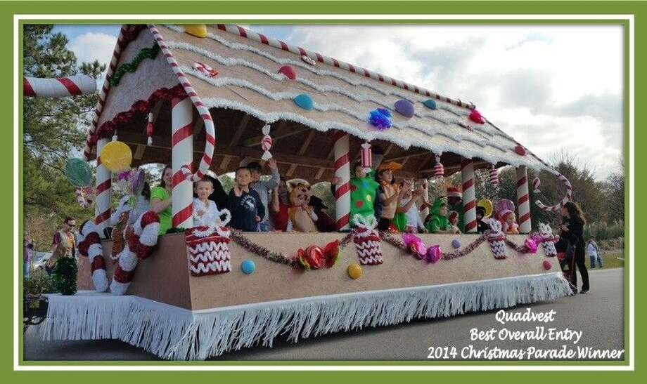 "Winner of the 2014 annual Magnolia Christmas Parade for the ""Best Overall Entry"" category."