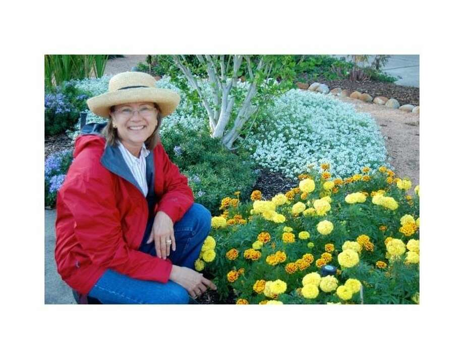 Regina Ripley, master gardener, is a former member of Kingwood Garden Club. She is an expert in horticulture and a talented landscape designer.