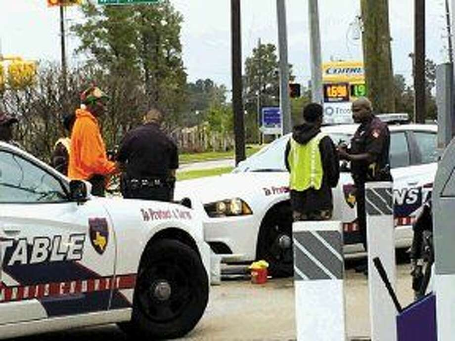 On Dec. 1, Precinct 4 patrol deputies responded to the intersection of Stuebner Airline and Spring Cypress Road where four solicitors were in the roadway collecting money from passing motorists. Deputies issued citations for three counts of soliciting from a public roadway, and one count of impeding traffic.