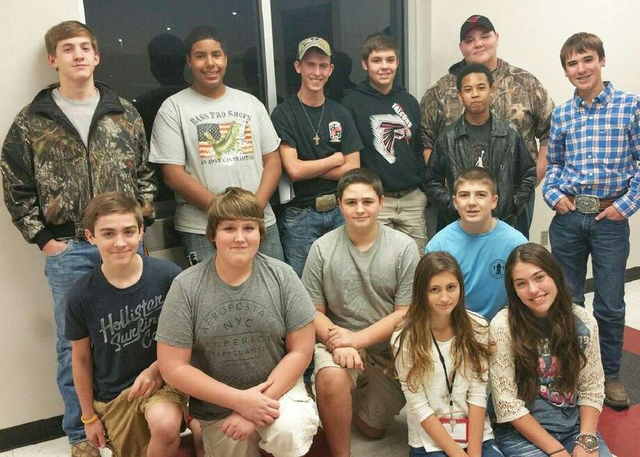 The Falcon Bass Team is in its inaugural season at Huffman Hargrave High School. Photo: Submitted Photo