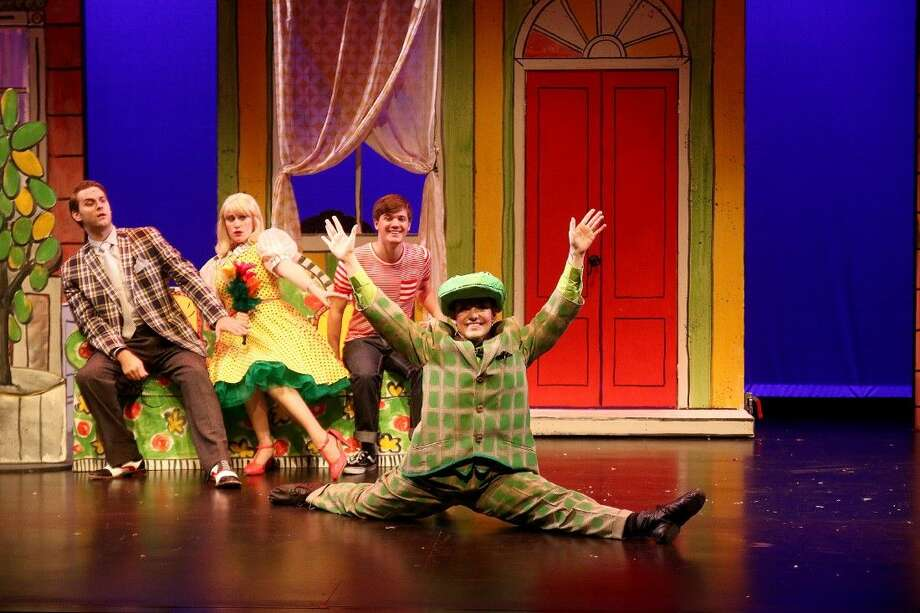 Main Street Theater continues its 2015-2016 Theater for Youth season with the delightful family musical Lyle the Crocodile, based on Bernard Waber's adored children's books Lyle, Lyle Crocodile and The House on East 88th Street. Photo: Pin Lim