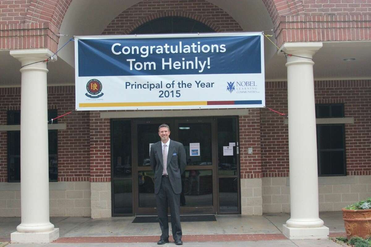 Tom Heinley (pictured) is Head of School at The Honor Roll School in Sugar Land. He was named K-12 Principal of the Year by Nobel Learning Communities, Inc. (NLCI), parent organization of The Honor Roll School.