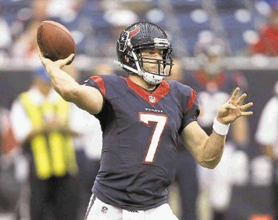 Case Keenum could get the start at quarterback for the Houston Texans this weekend. Photo: Eric Gay