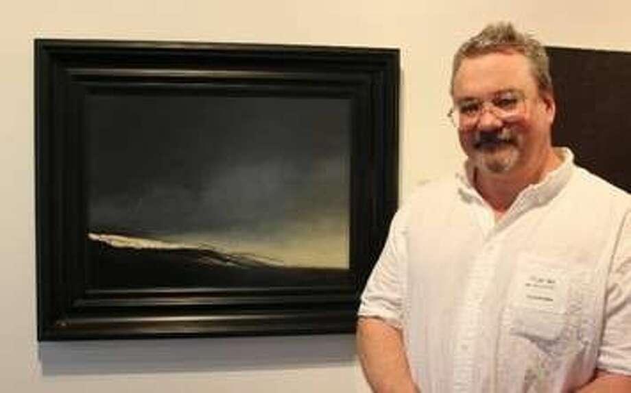 Tim Schneider, oil painting Sea Change
