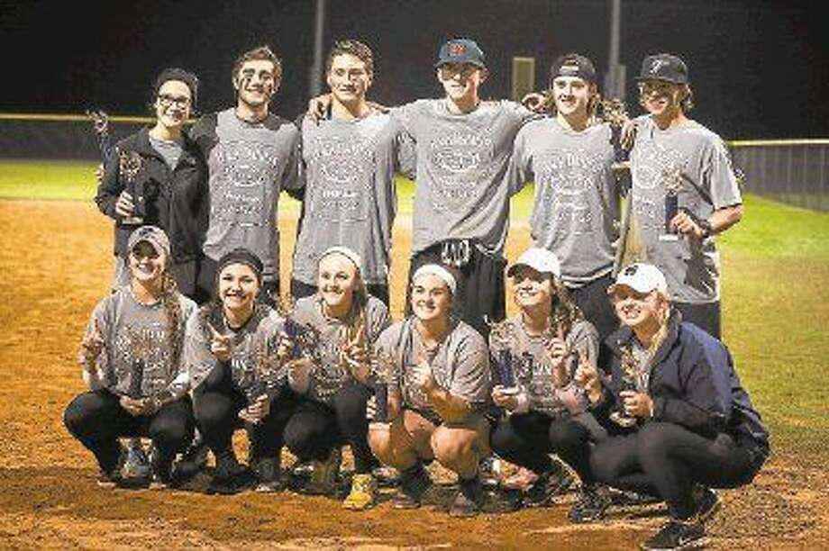 Jack Daniels poses for a photo after their victory against Back to Back in the championship game of Slugfest 2015, hosted by College Park High School, on Sunday, Dec. 6, 2015, at the SMGSL and Orwell Fields. Photo: Michael Minasi