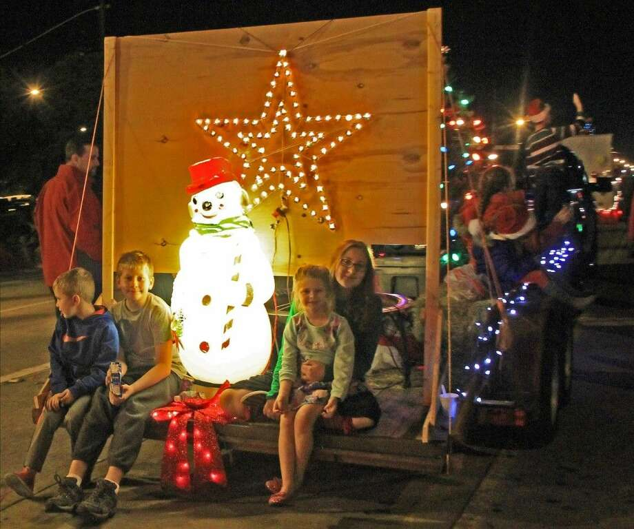 Frosty the Snowman was the among the holiday VIPs spotted on a float at the Hometown Christmas Parade. Photo: Kristi Nix