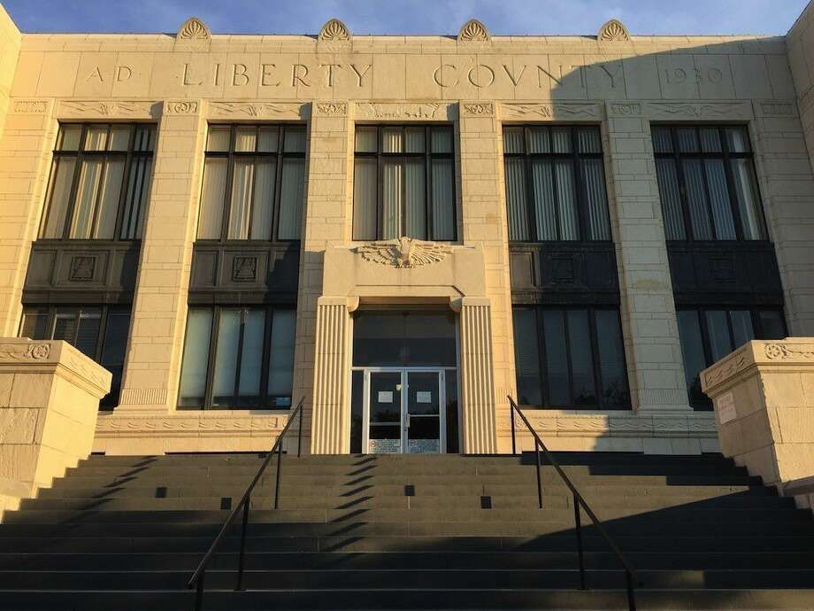 Built in 1929-1931 and designed by architect Cornell G. Curtis, the Liberty County courthouse is an example of the art deco style popular in the early 20th century. Photo: Casey Stinnett