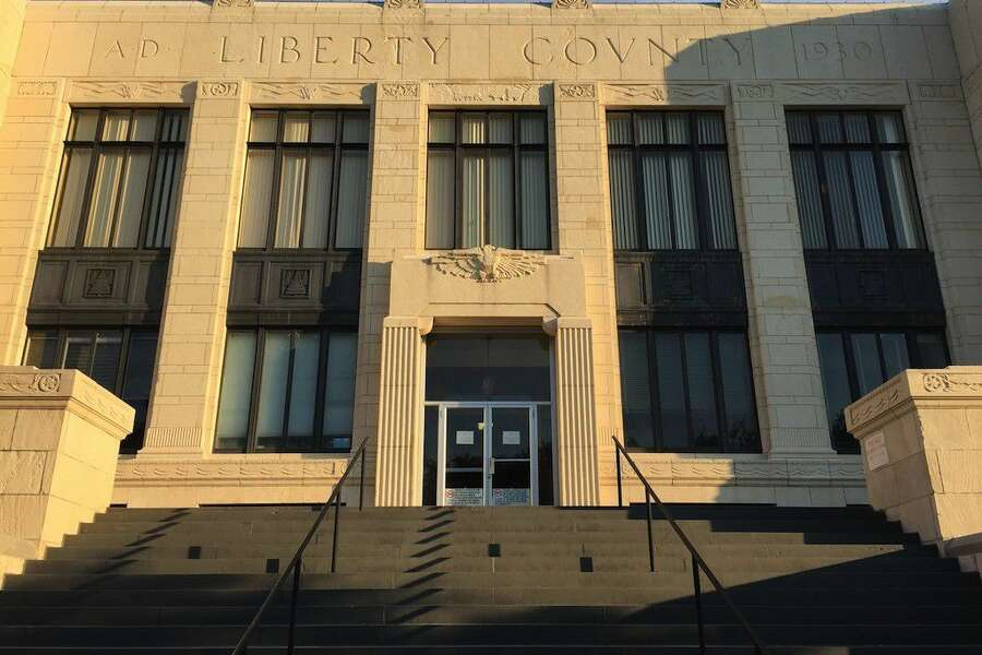 Art Deco Survives In Liberty Texas Houstonchronicle Com