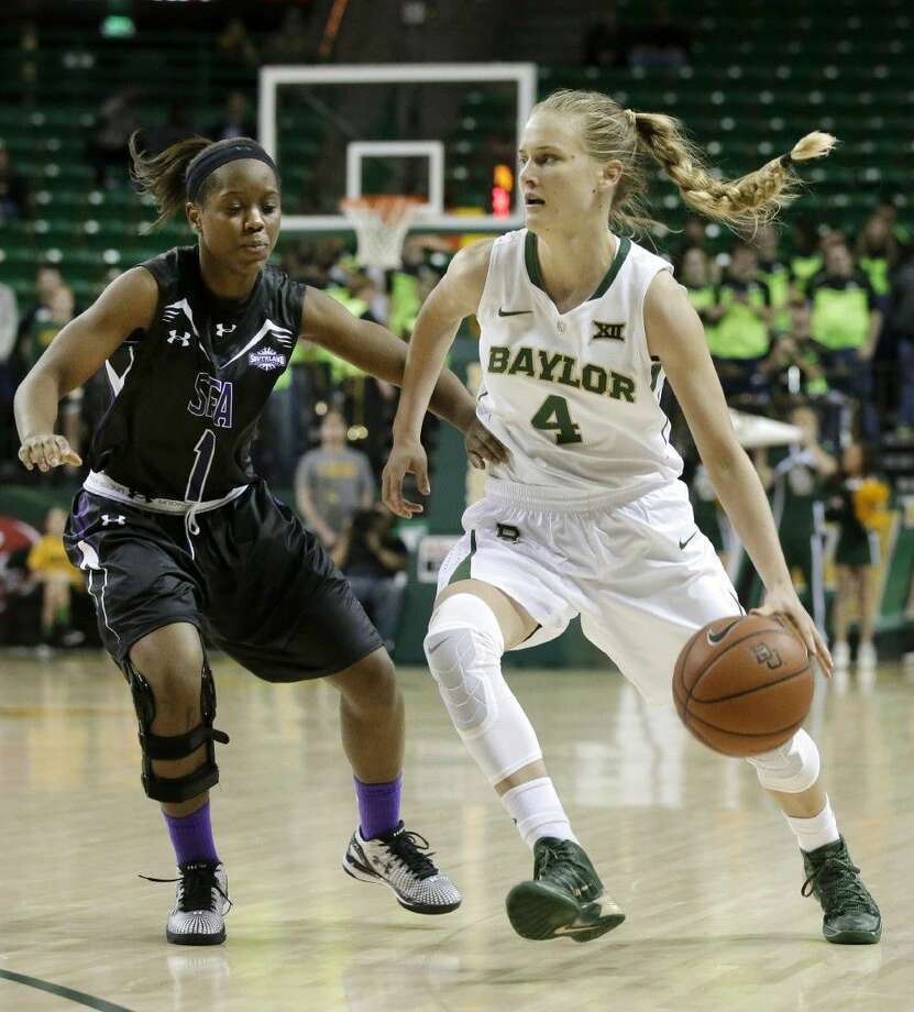 Baylor guard Kristy Wallace has made key contributions for the Lady Bears during her freshman season. Photo: Tony Gutierrez