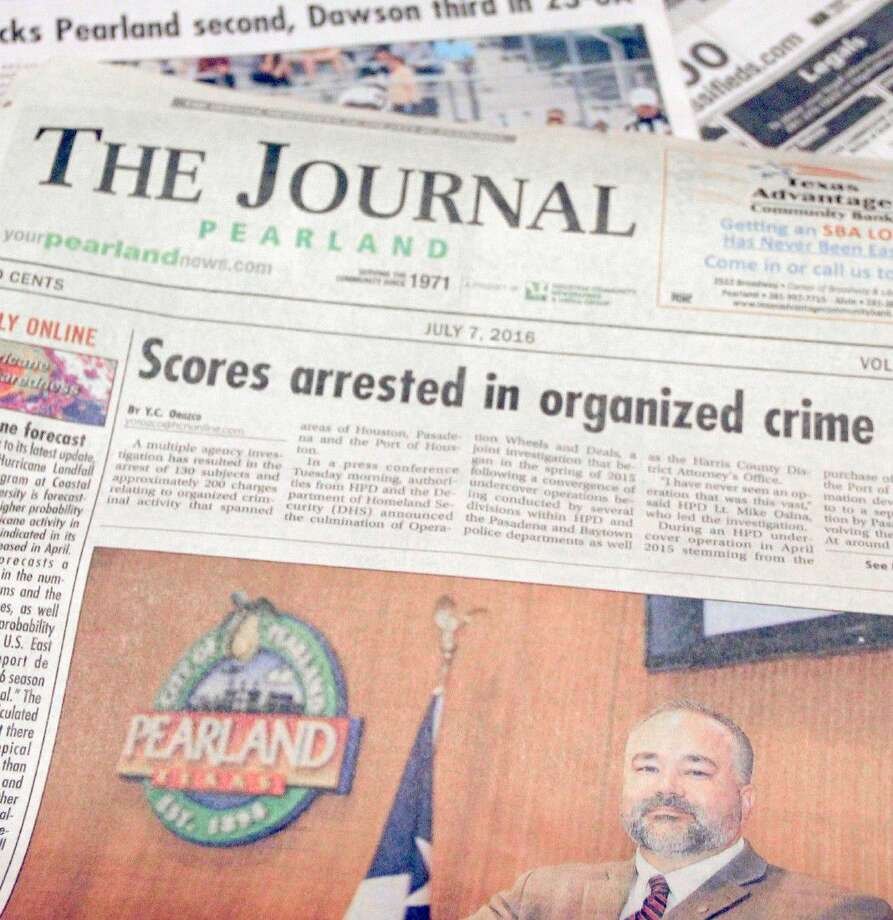 The Pearland Journal was designed as the official newspaper of record for the City of Pearland at a City Council meeting held Monday (July 11). Photo: Kristi Nix