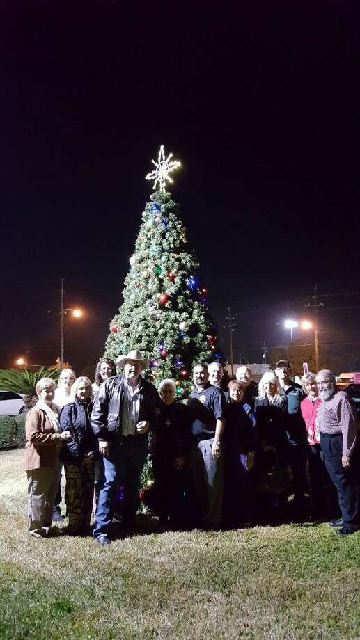 """The Greater Magnolia Chamber of Commerce launched its """"Decorating Magnolia for Christmas Project"""" in January of this year. Photo: Submitted"""