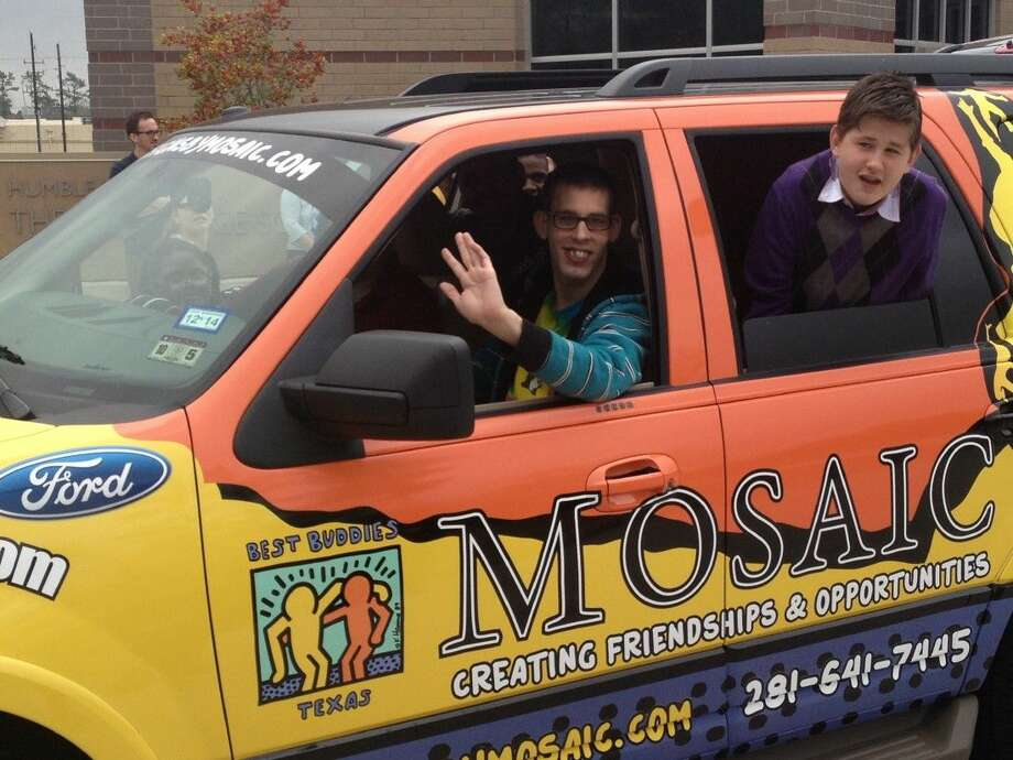 mosaic students in humble isd given a ride to success houston chronicle. Black Bedroom Furniture Sets. Home Design Ideas