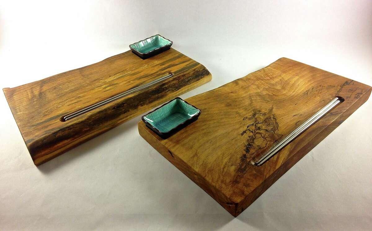 JK Custom Furniture & Design: Sushi boards, serving trays, cutting boards and more.