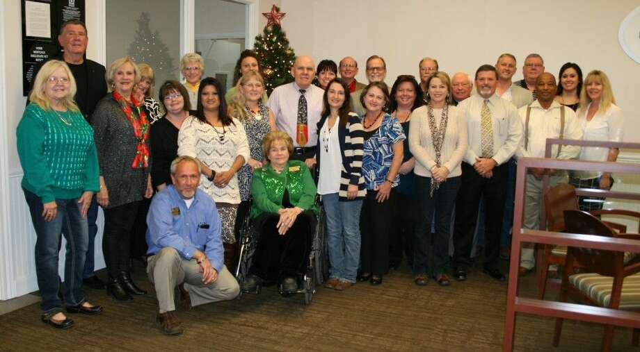The Greater Cleveland Chamber of Commerce held an open house on Tuesday, Dec. 5, at its new headquarters inside the Green Bank building at 908 E. Houston St. Green Bank has graciously provided, free of charge, a beautiful office and meeting room for the chamber. Photo: Vanesa Brashier