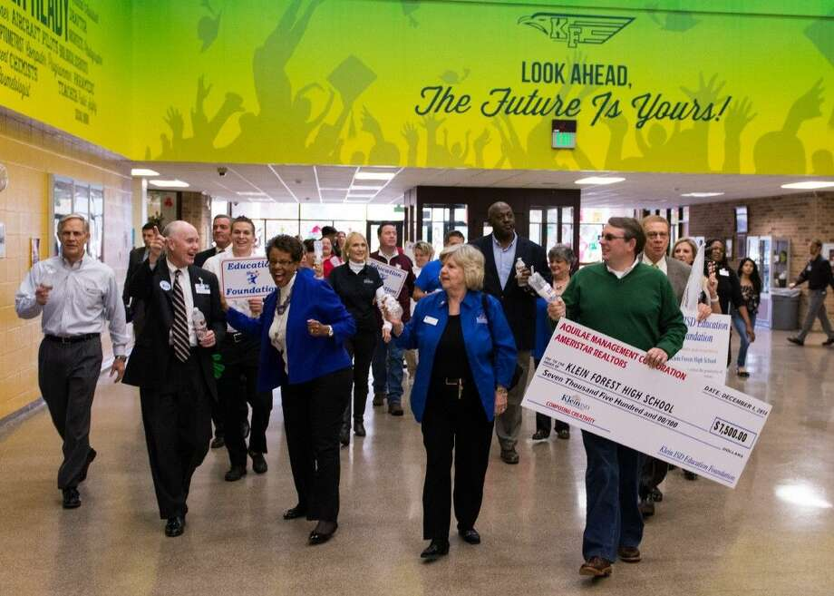 The Klein ISD Education Foundation awarded several educator grants to different schools in the KISD for a total of $84,000.