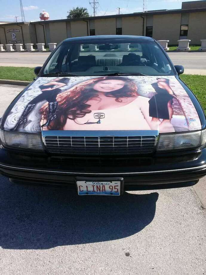 Ronnie Galindo now drives the Selena-themed 1991 Chevrolet Caprice his father, Juan Galindo, kept drove around Chicago as a mobile tribute to the Queen of Tejano. Photo: Provided By Ronnie Galindo