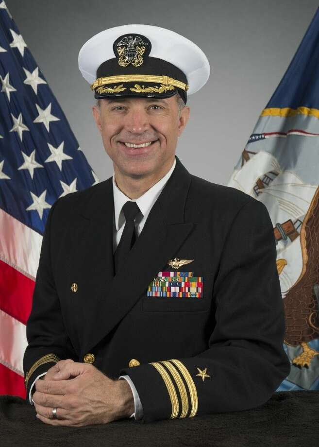 Navy Cmdr Eric C Doyle Of League City Takes Command Of