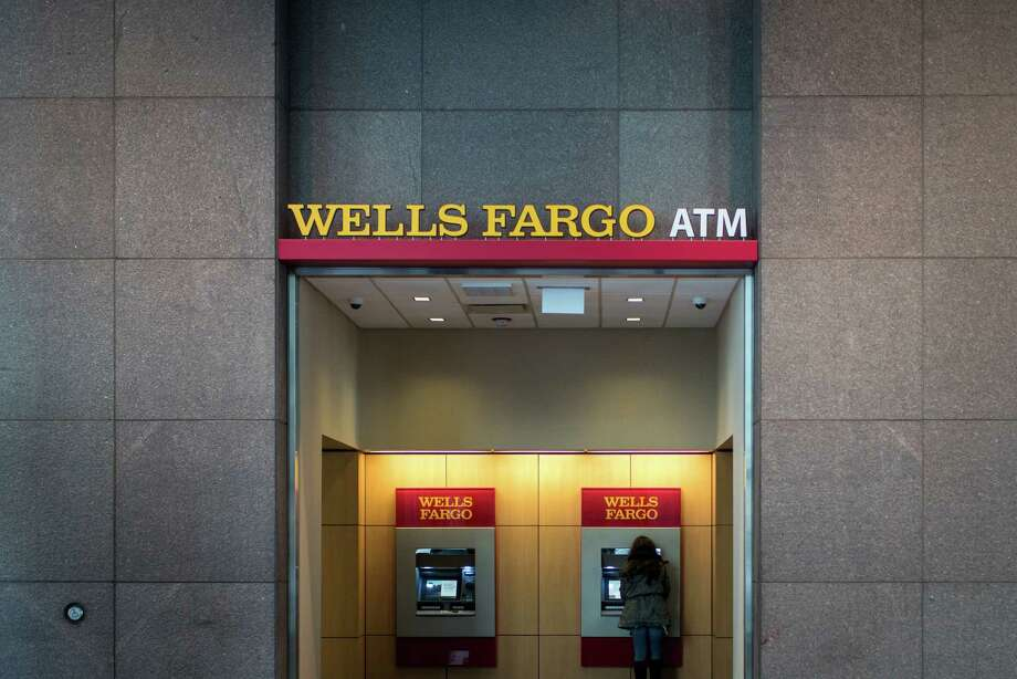 The number of credit card applications and the number of new checking accounts at Wells Fargo dropped substantially in February, less than six months after an accounts scandal erupted at the bank. (Christopher Dilts/Bloomberg) Photo: Christopher Dilts, Stringer / © 2016 Bloomberg Finance LP